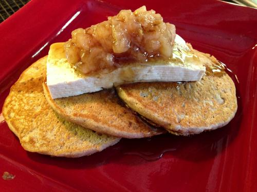 Hearty Whole Wheat Pancakes Garden Dish Vegan Recipe