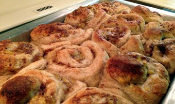 Banana Cinnamon Sweet Rolls