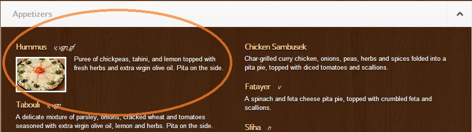 Vegan Eating Mediterranean Hummus Appetizer