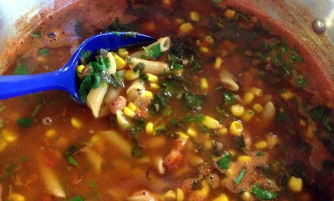 Easy Mexican Minestrone