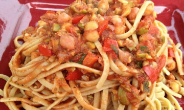 vegan pasta provencal
