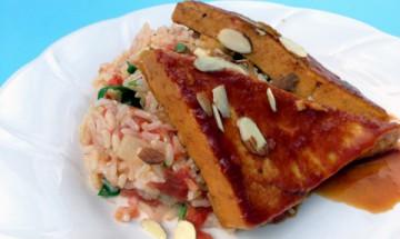 vegan hawaiian tofu