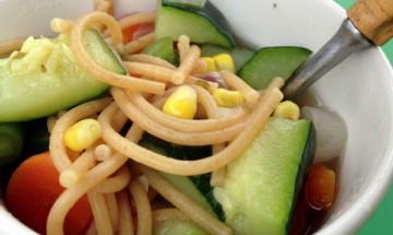 vegan zucchini noodle soup