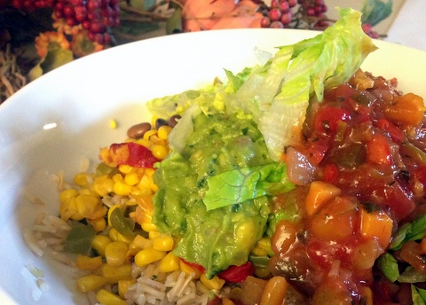 vegan burrito bowl chipotle recipe garden dish