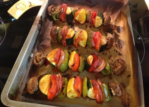 Summer Vegetable Kebabs