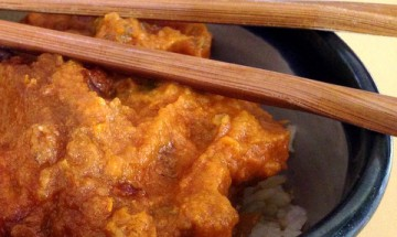 vegan curry pumpkin carrot