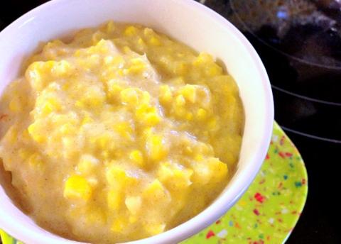 vegan creamed corn recipe vegan garden dish