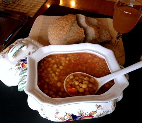 mulligatawny soup garden dish vegan