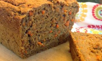 Carrot Apple Walnut Bread 4