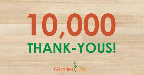10K Thank Yous