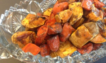 Holiday Roasted Carrots and Sweet Potatoes