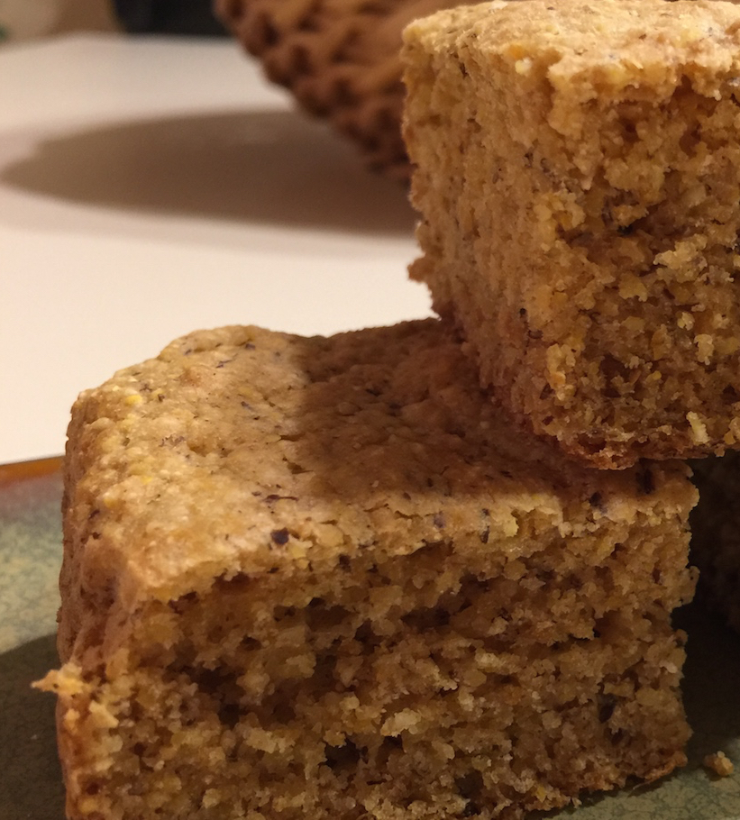 Whole-Grain Golden Cornbread